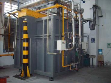 AINZ-4.0m³全自控燃气钟罩窑1750℃